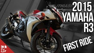 3. 2015 Yamaha R3 | First Ride