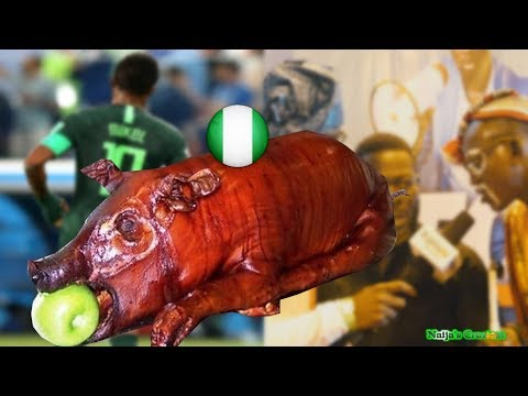 When Nigerians Catch Pig Marcus After Super Eagles Failed To Reach Semifinals of 2018 Worldcup