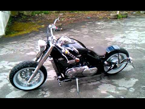 Suzuki Boulevard Mr Custom Chopper