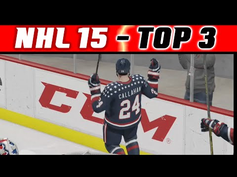 NHL 15: TOP 3 Highlights #9 - Nice Dangles