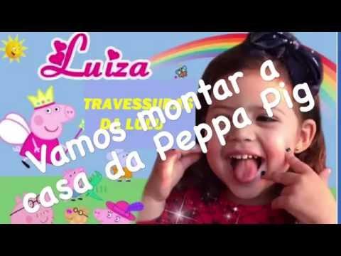 Video Casa da Família Peppa Pig - Vamos montar e brincar? download in MP3, 3GP, MP4, WEBM, AVI, FLV January 2017