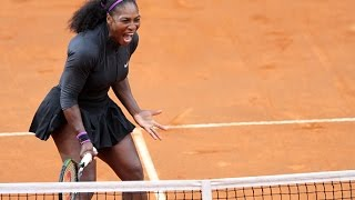 Tennis Highlights, Video - 2016 Internazionali BNL d'Italia Semifinal | Serena Williams vs Irina-Camelia Begu | WTA Highlights