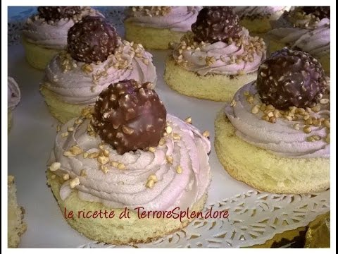video ricetta: tortini ferrero rocher