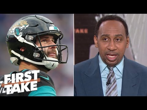 Extending Blake Bortles was the worst mistake Tom Coughlin made - Stephen A. | First Take