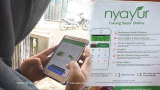 Video Klik Aplikasi Nyayur, Sayuran Datang ke Rumah Tak Perlu ke Pasar MP3, 3GP, MP4, WEBM, AVI, FLV Juli 2017