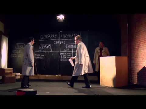 Glengarry Glen Ross promo Prima Parte di David Mamet regia di cristina Pezzoli