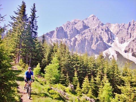 Mountainbike Traumrouten Maria Waldrast - Stubaitail - Innsb (видео)