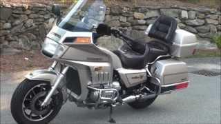 6. 1987 Honda GL1200 GoldWing Interstate at Alphacars, Boxborough MA