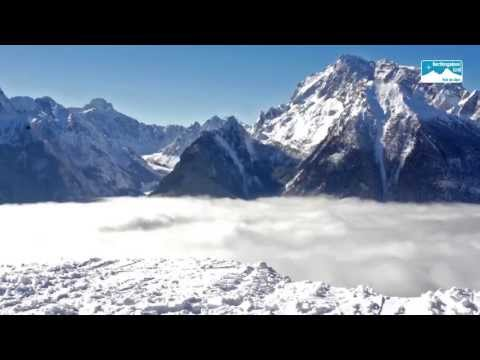 Skigebiet Hochschwarzeck in der Ramsau