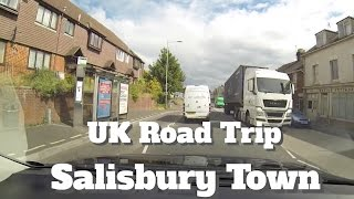 Salisbury United Kingdom  city pictures gallery : UK Road Trip Driving Salisbury Town on A36 Wiltshire
