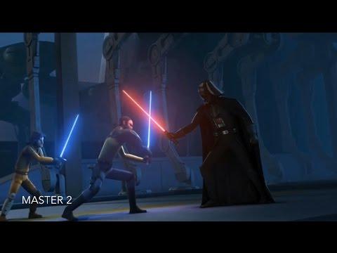 [Kanan & Ezra vs Darth Vader] Star Wars Rebels Season 2 Episode 2 [HD]