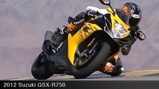 3. MotoUSA 2012 Suzuki GSX-R750 Comparison