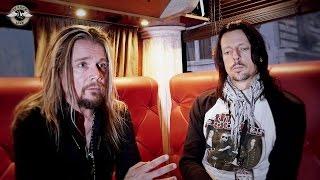 The Poodles - Interview Jakob Samuel & Henrik Bergqvist - Paris 2015