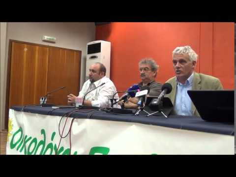 Γιάννης Τσιρώνης στην 80η ΔΕΘ ρωτάται για τις αντιρρήσεις στους Οικολόγους για συνεργασία με ΣΥΡΙΖΑ