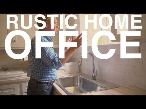 , title : 'Rustic Home Office | Day 128 | The Garden Home Challenge With P. Allen Smith'