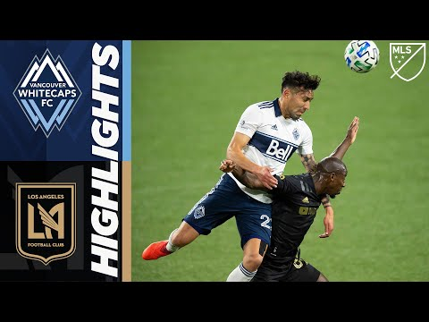 Vancouver Whitecaps FC vs LAFC | October 14, 2020 | MLS Highlights