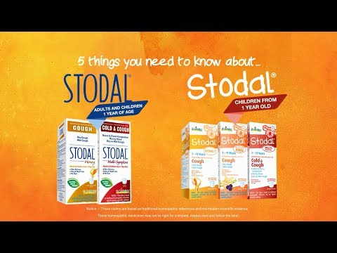 Children's Stodal® Sugar-free