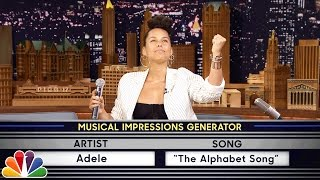 Video Wheel of Musical Impressions with Alicia Keys MP3, 3GP, MP4, WEBM, AVI, FLV September 2018