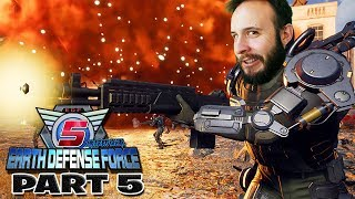 Earth Defense Force 5 Part 5 - Funhaus Gameplay