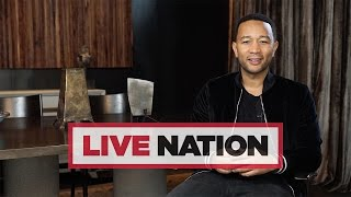 John Legend Has A Message For UK Fans Ahead Of The Darkness And Light Tour | Live Nation UK