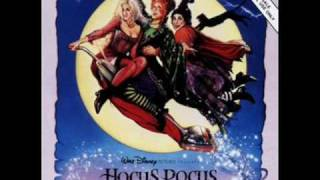 Hocus Pocus - Brother/Sister Theme SCORE RARE