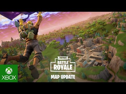 Fortnite - Battle Royale Map Update (видео)