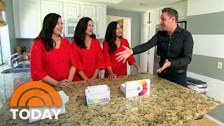 Video Are Home DNA Kits Really Accurate? Jeff Rossen Investigates With Identical Triplet Sisters | TODAY MP3, 3GP, MP4, WEBM, AVI, FLV Maret 2019