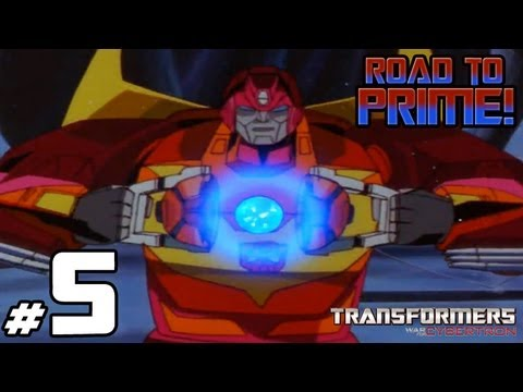 Transformers War for Cybertron - Road to Prime - GAME 5 - Party Time!
