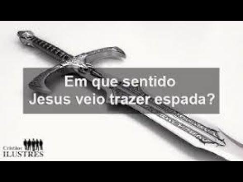 JESUS  VEIO TRAZER DISSENSÃO E ESPADA... VIDEO _39 (видео)