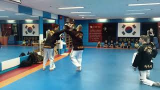 30 seconds Hapkido action