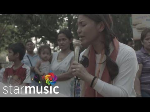 LANI MISALUCHA - Anak [Surprise 'Bangketa' Concert in Manila]