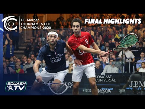 Squash: J.P. Morgan Tournament of Champions 2020 - Men's Final - Momen v Mo.ElShorbagy