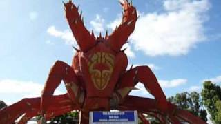 Kingston South East Australia  city photos gallery : Zoidberg Meets the Big Lobster of Kingston, South Australia