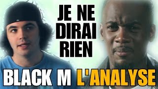 BLACK M - JE NE DIRAI RIEN : L'ANALYSE de MisterJDay (♪33) - YouTube