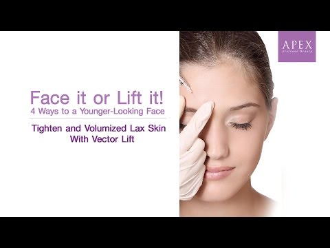 Tighten and Volumized Lax Skin With Vector Lift