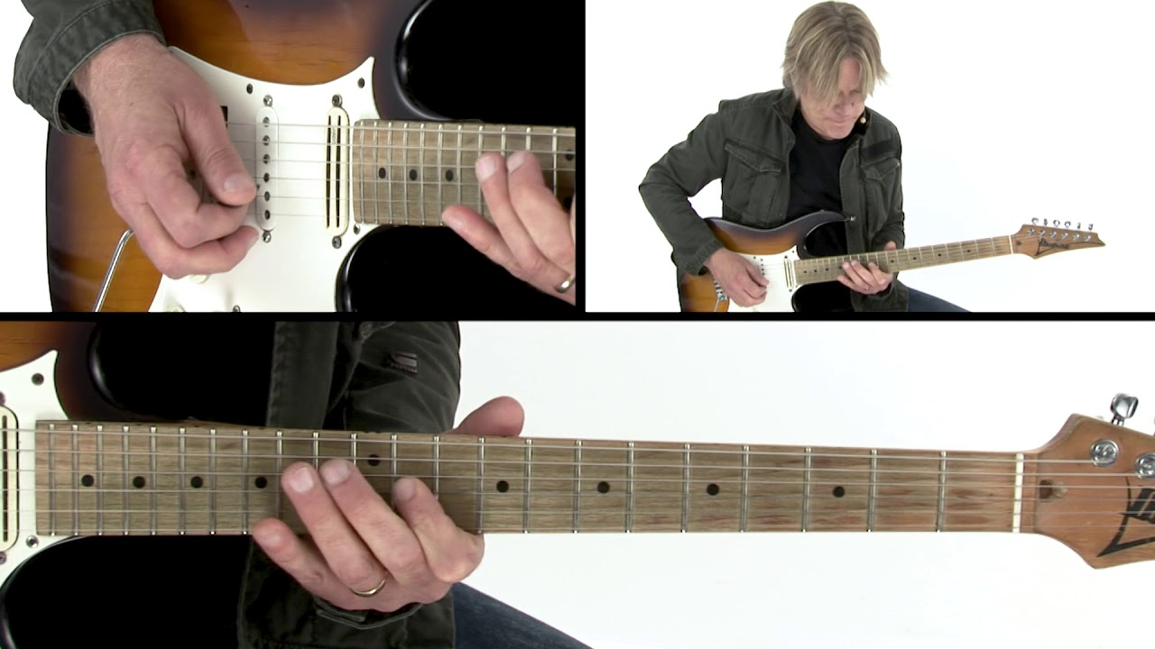 Andy Timmons Guitar Lesson – Horizontal Pentatonic Slide – 30 Electric Expressions