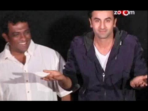 Ranbir Kapoor Kisses Anurag Basu!
