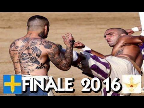 Calcio Storico 2016  Finale  Azzurri - Bianchi
