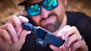 DJI OSMO Pocket has some FLAWS