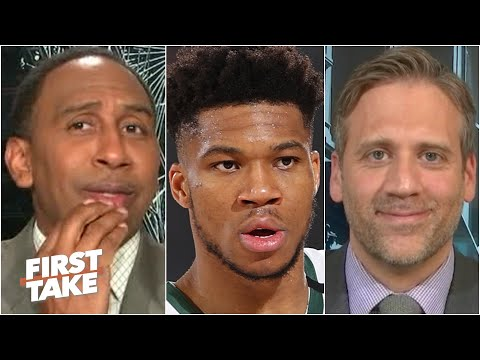 Stephen A. & Max react to reports of Giannis leaving the Bucks for the Heat | First Take