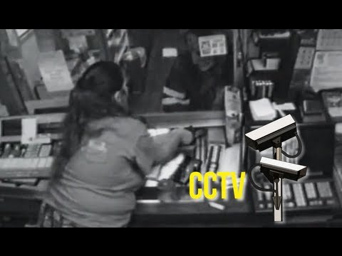 World's most stupid criminals - Brave shopkeeper shows no fear as a hoodlum pulls a ...
