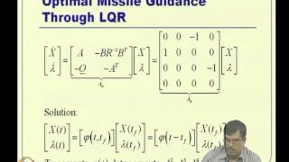 Mod-05 Lec-13 Linear Quadratic Regulator (LQR) -- III