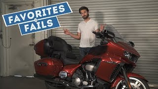 2. 2018 Yamaha Star Venture Transcontinental - Favorites & Fails