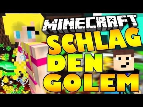 SCHLAG DEN GOLEM #2 - HAHAA :DD + OUTTAKE  - Spielmodus in MINECRAFT | GommeHD