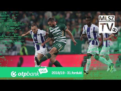 Ferencvárosi TC – Újpest FC | 2-1 | (1-1) | OTP Bank Liga | 31. forduló | MLSZTV