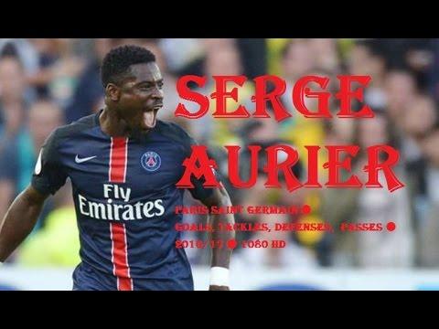 SERGE AURIER ● Paris Saint Germain ● Goals, Tackles, Defenses,  Passes ● 2016/17 ● 1080 HD
