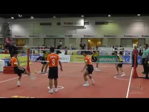 Sepak Takraw Prince Cup 2014 - Day 4 Highlights