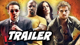 Defenders Episode 1 Trailer. Daredevil, Luke Cage, Iron Fist and Jessica Jones. The Hand vs Chaste, War For New York, Elektra, ...