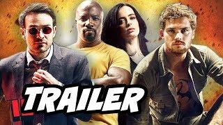 Defenders Episode 1 Trailer. Daredevil, Luke Cage, Iron Fist and Jessica Jones. The Hand vs Chaste, War For New York, Elektra,...
