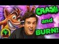 I'M CRASHING SO HARD! | Crash Bandicoot N Sane Trilogy